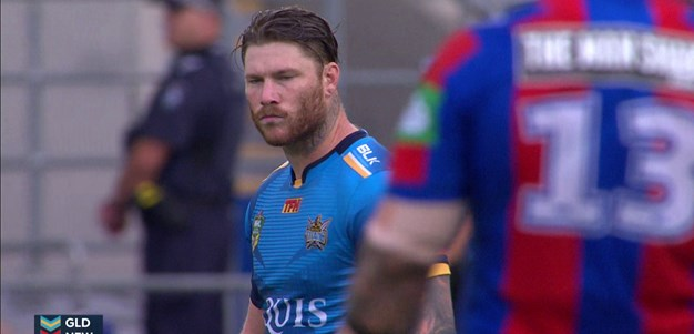 Full Match Replay: Gold Coast Titans v Newcastle Knights (1st Half) - Round 1, 2016