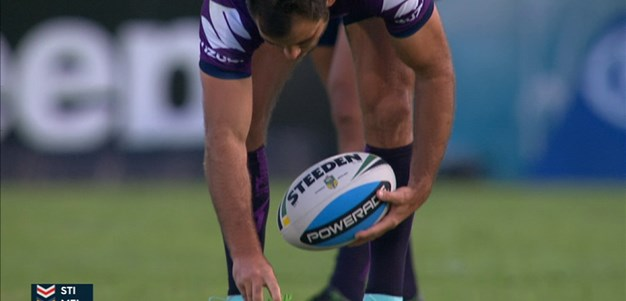 Full Match Replay: St George-Illawarra Dragons v Melbourne Storm (1st Half) - Round 1, 2015