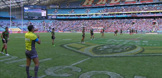 Full Match Replay: South Sydney Rabbitohs v Sydney Roosters (1st Half) - Round 2, 2015