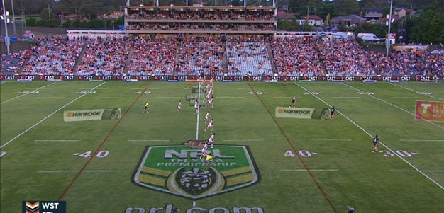 Full Match Replay: Wests Tigers v St George-Illawarra Dragons (1st Half) - Round 2, 2015