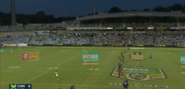 Full Match Replay: Canberra Raiders v Warriors (2nd Half) - Round 2, 2015