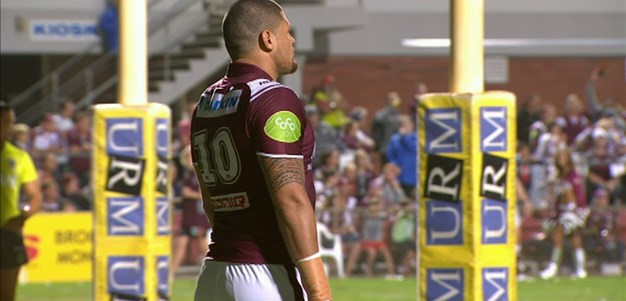 Full Match Replay: Manly-Warringah Sea Eagles v Canterbury-Bankstown Bulldogs (1st Half) - Round 3, 2015