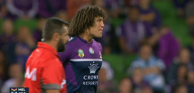 Full Match Replay: Melbourne Storm v Cronulla-Sutherland Sharks (1st Half) - Round 3, 2015
