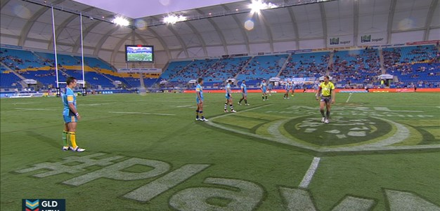Full Match Replay: Gold Coast Titans v Newcastle Knights (1st Half) - Round 3, 2015
