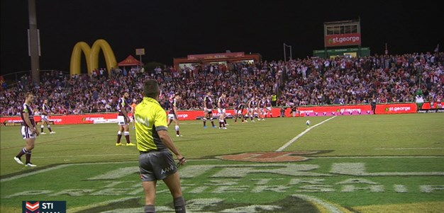 Full Match Replay: St George-Illawarra Dragons v Manly-Warringah Sea Eagles (1st Half) - Round 4, 2015
