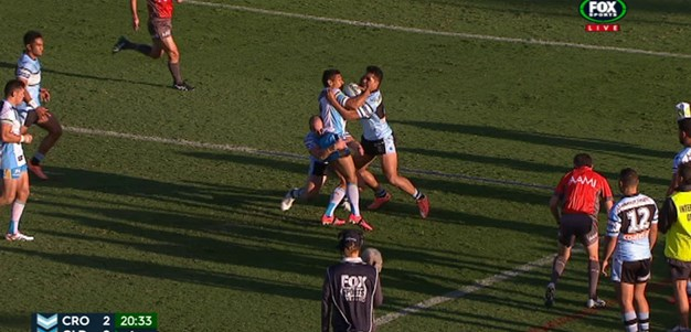 Rd 4: TRY Dave Taylor (21st min)