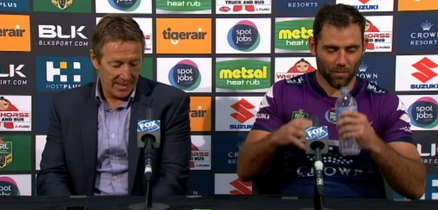 Rd 5 Press Conference: Storm