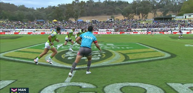 Full Match Replay: Manly-Warringah Sea Eagles v Canberra Raiders (1st Half) - Round 5, 2015