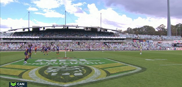 Full Match Replay: Canberra Raiders v Melbourne Storm (1st Half) - Round 6, 2015
