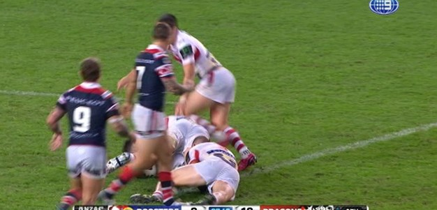 Rd 8: TRY Shaun Kenny-Dowall (36th min)