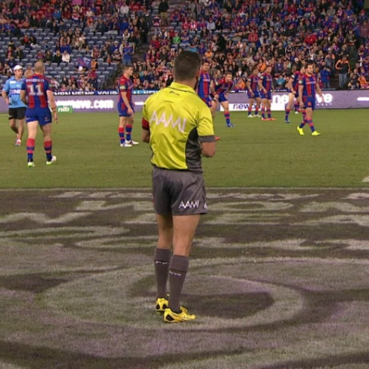 Full Match Replay: Newcastle Knights v Wests Tigers (2nd Half) - Round 10, 2015