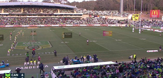 Full Match Replay: Canberra Raiders v North Queensland Cowboys (2nd Half) - Round 15, 2015
