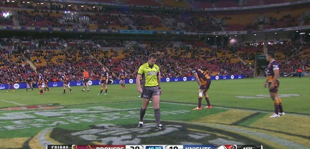 Full Match Replay: Brisbane Broncos v Newcastle Knights (2nd Half) - Round 16, 2015