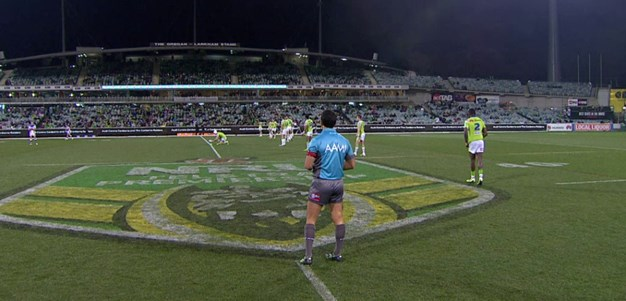 Full Match Replay: Canberra Raiders v Newcastle Knights (1st Half) - Round 18, 2015