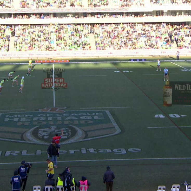 Full Match Replay: Canberra Raiders v Cronulla-Sutherland Sharks (2nd Half) - Round 19, 2015