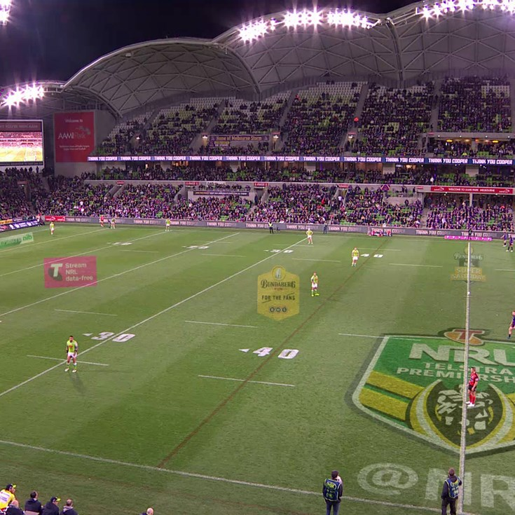Full Match Replay: Melbourne Storm v Canberra Raiders (2nd Half) - Round 26, 2017