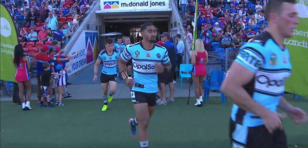 Full Match Replay: Newcastle Knights v Cronulla-Sutherland Sharks (2nd Half) - Round 26, 2017
