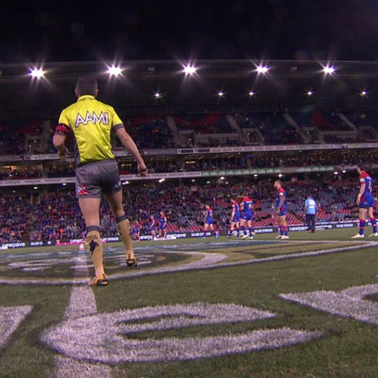 Full Match Replay: Newcastle Knights v Gold Coast Titans (1st Half) - Round 19, 2015