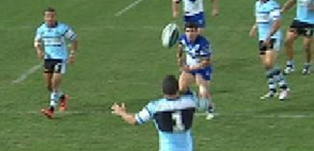 Full Match Replay: Canterbury-Bankstown Bulldogs v Cronulla Sharks (1st Half), Round 2, 2014