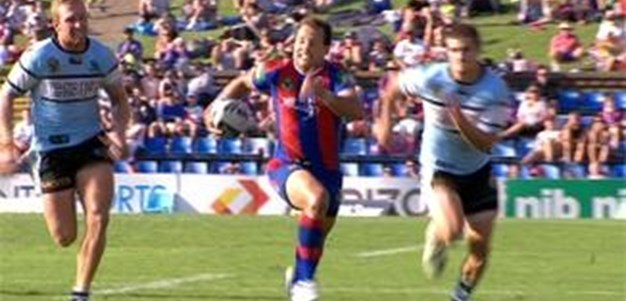 Full Match Replay: Newcastle Knights v Cronulla-Sutherland Sharks (2nd Half) - Round 4, 2014