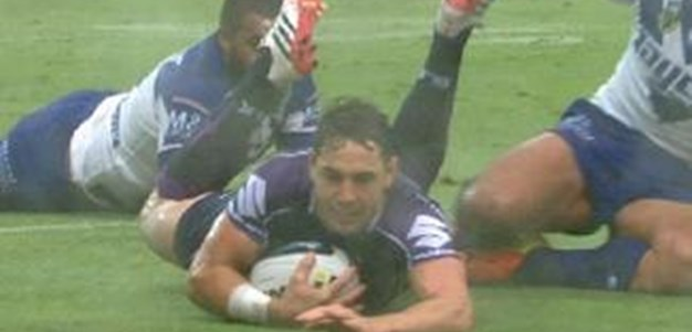 Full Match Replay: Canterbury-Bankstown Bulldogs v Melbourne Storm (1st Half) - Round 4, 2014