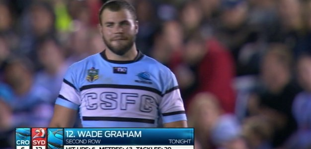 Full Match Replay: Cronulla-Sutherland Sharks v Sydney Roosters (2nd Half) - Round 7, 2014