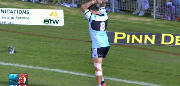 Full Match Replay: Cronulla-Sutherland Sharks v Sydney Roosters (1st Half) - Round 7, 2014