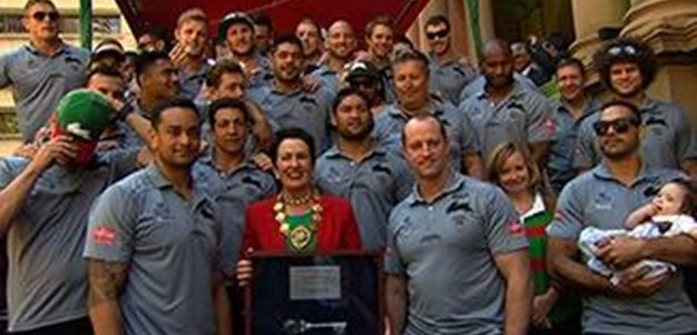 Souths presented with keys to the city