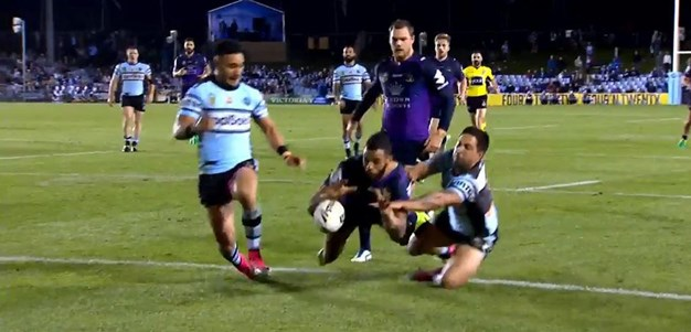 Rd 14: Sharks v Storm - No Try 57th minute