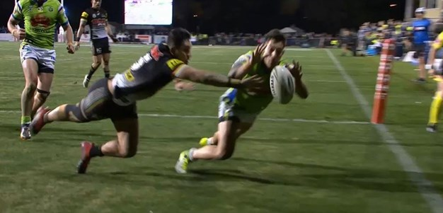 Rd 14: Panthers v Raiders - No Try 78th minute - Nick Cotric