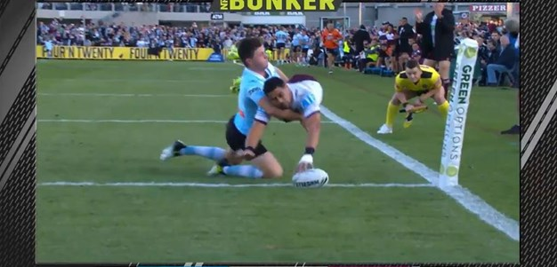 Rd 16: Sharks v Sea Eagles - Try 20th minute - Matthew Wright