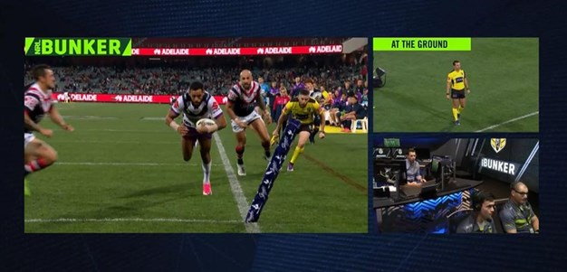 Rd 16: Roosters v Storm - Try 42nd minute - Josh Addo-Carr