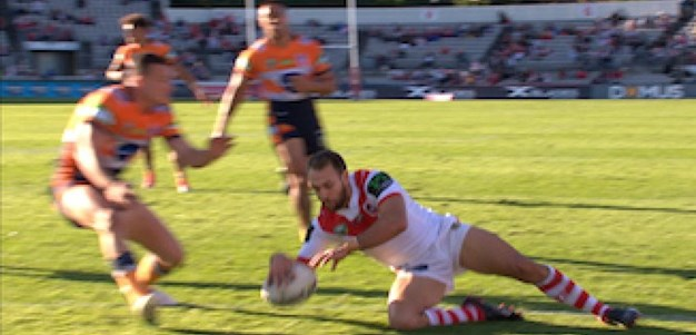 Full Match Replay: St George-Illawarra Dragons v Newcastle Knights (2nd Half) - Round 16, 2017