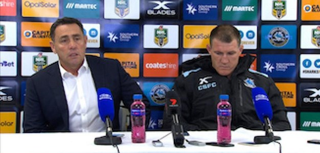 Rd 16 Press Conference: Sharks