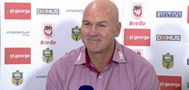 Rd 16 Press Conference: Dragons