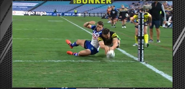 Rd 13: Bulldogs v Panthers - Try 79th minute - Josh Mansour