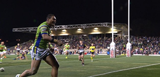 Full Match Replay: Penrith Panthers v Canberra Raiders (2nd Half) - Round 14, 2017