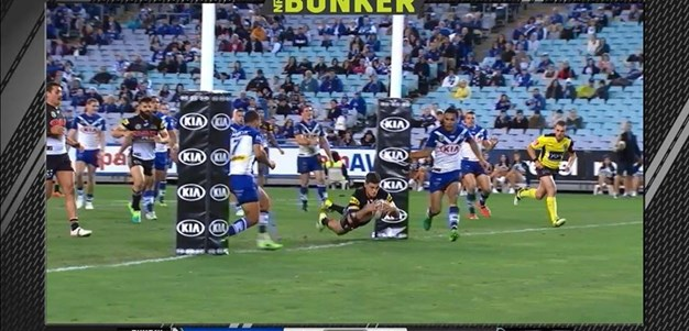 Rd 13: Bulldogs v Panthers - Try 63rd minute - Nathan Cleary