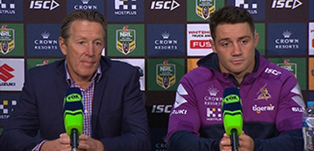 Rd 13 Press Conference: Storm