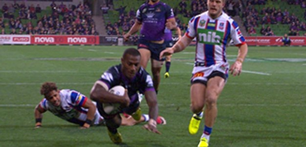 Full Match Replay: Melbourne Storm v Newcastle Knights (1st Half) - Round 13, 2017