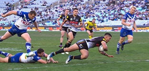 Full Match Replay: Canterbury-Bankstown Bulldogs v Penrith Panthers (1st Half) - Round 13, 2017
