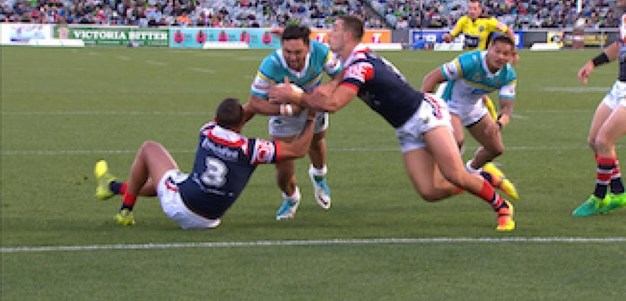 Full Match Replay: Canberra Raiders v Sydney Roosters (1st Half) - Round 12, 2017