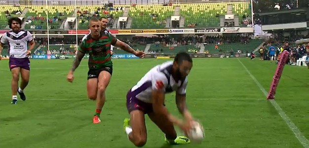Rd 11: Rabbitohs v Storm - Try 24th minute - Josh Addo-Carr