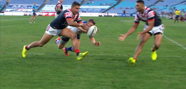Full Match Replay: Canterbury-Bankstown Bulldogs v Sydney Roosters (1st Half) - Round 11, 2017