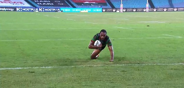 Rd 4: Rabbitohs v Roosters - Try 49th minute - Sitiveni Moceidreke