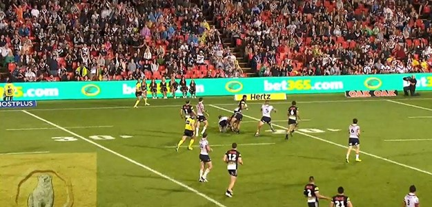Rd 3: Panthers v Roosters - No Try 70th minute - Tyrone Peachy