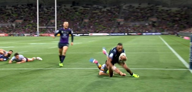 Rd 3: Storm v Broncos - Try 67th minute - Josh Addo-Carr