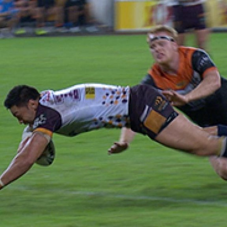 Full Match Replay: Brisbane Broncos v Wests Tigers (1st Half) - Round 11, 2017