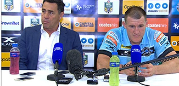 Rd 11 Press Conference: Sharks