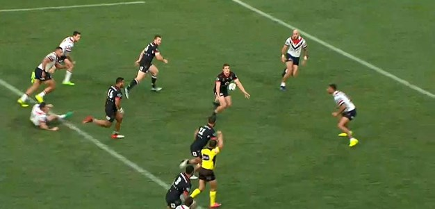 Rd 9: Warriors v Roosters - No Try 45th minute